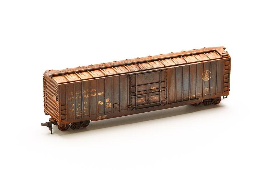 "HO Scale Model Train - ""B & O"""