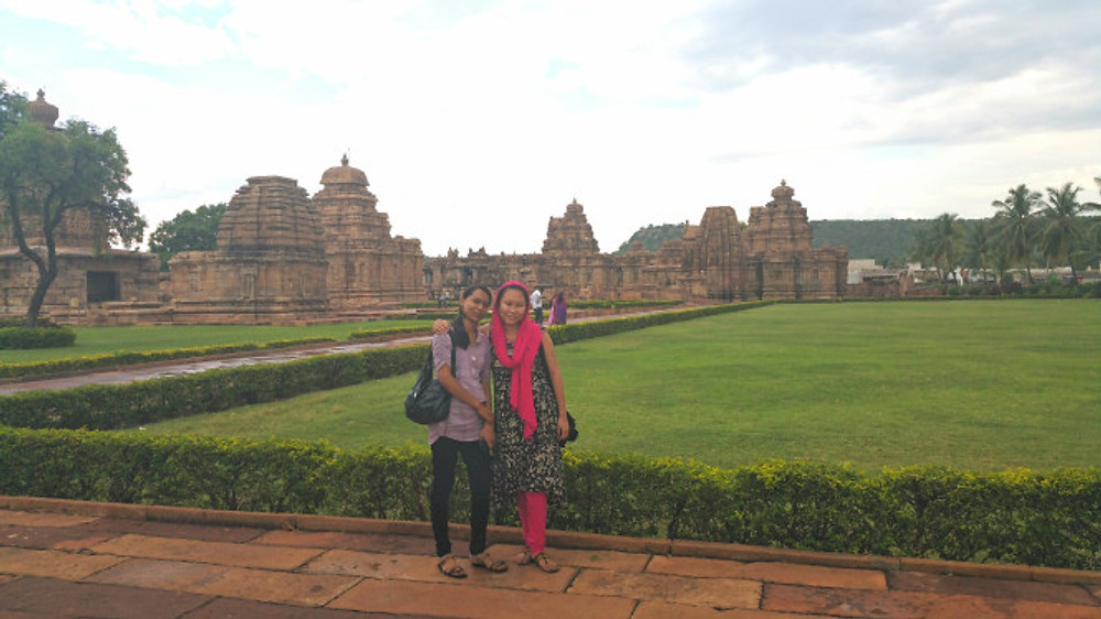 Our tour guides, Jyoti and Austina