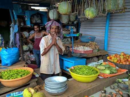 The market and discovering the Rupee