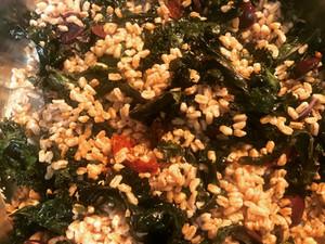Farro & Kale Grain Salad