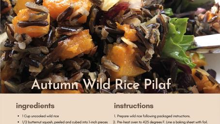 Falling in with seasonal foods - Butternut Squash