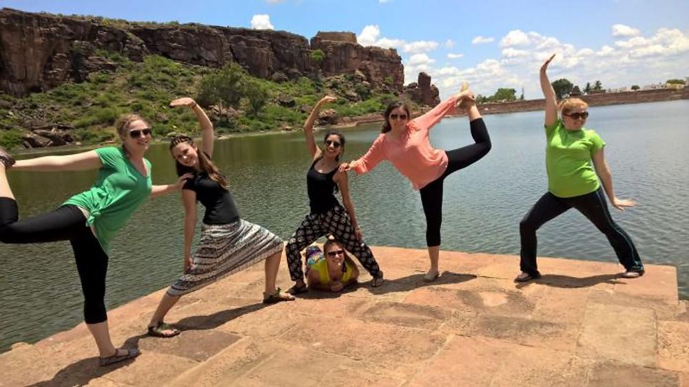 Yoga pose!!