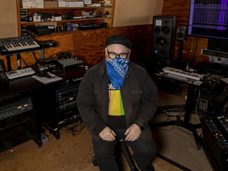 Coping With Covid - Kingsize Soundlabs in L.A. Times