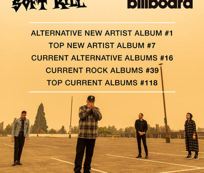 Soft Kill Album Recorded at Kingsize Soundlabs Tops Billboard Alternative Charts at #1