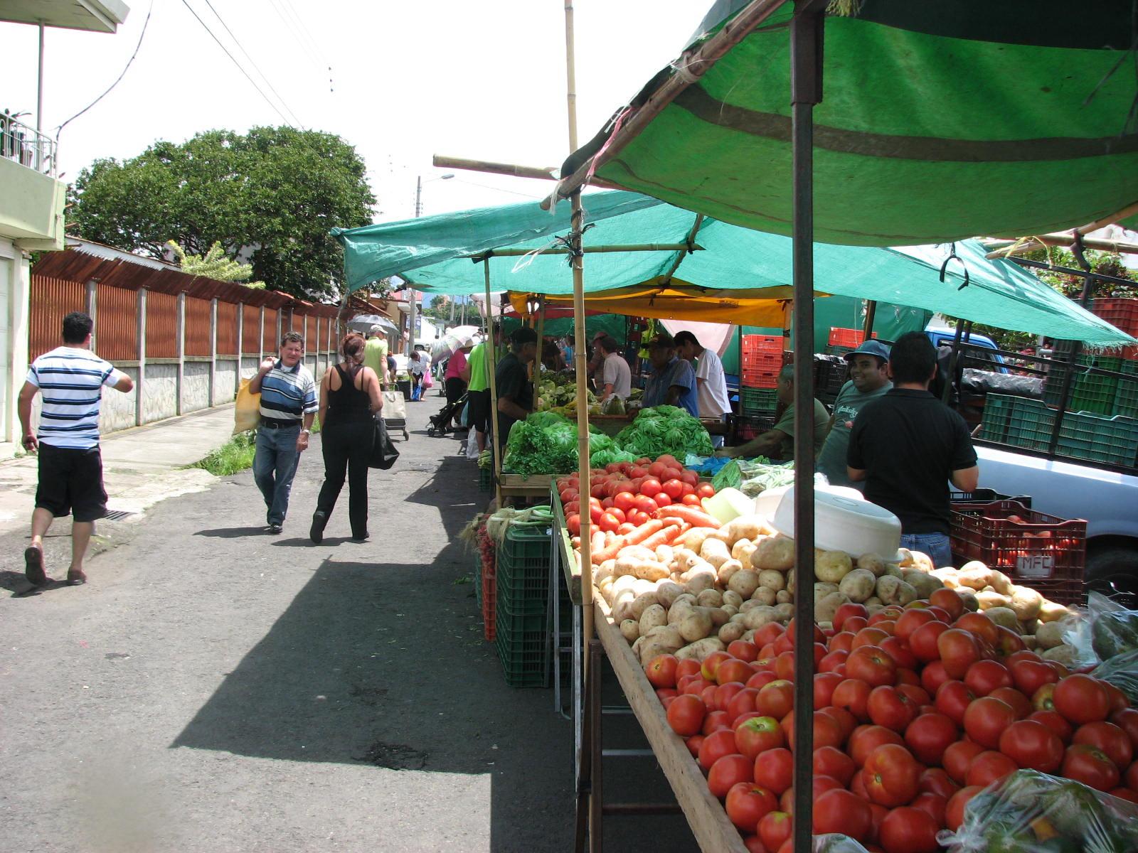 Sto Domingo Heredia Farmers Market