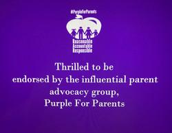#PurpleForParents