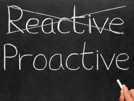 Proactive Leadership is Needed Now More Than Ever
