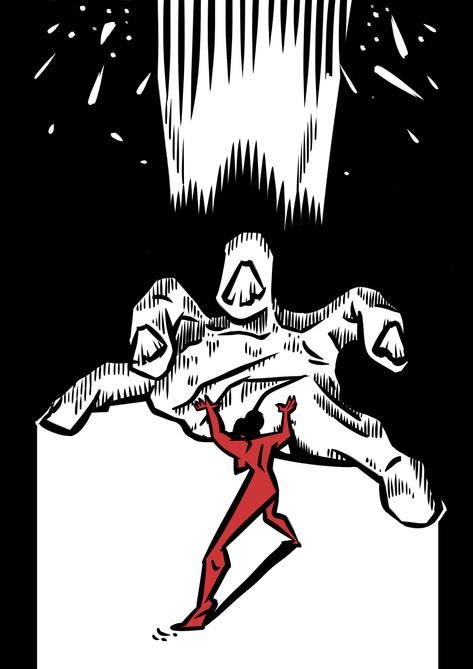 A Furious Giant Hand