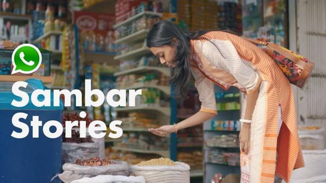Whatsapp Business | Sambar Stories