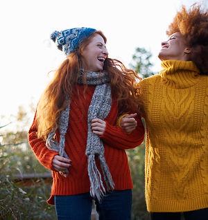 Women in Woolen Sweaters