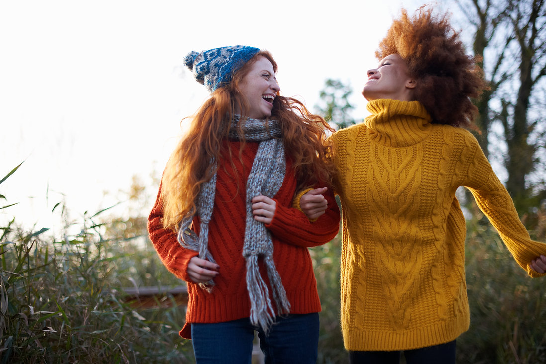 Women in Woolen Sweaters