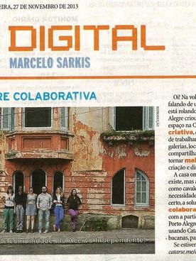 "27.11.2013 ZeroHora ""Porto Alegre Colaborativa"""