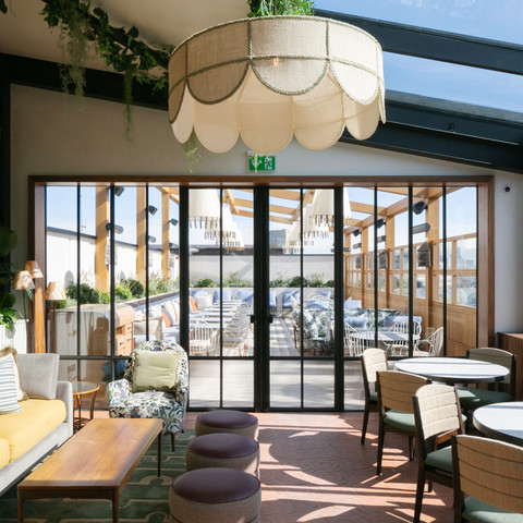 NEW ROOFTOP BAR & RESTAURANT AT  THE HOXTON Hotel