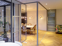 Steel bifolding and sliding doors