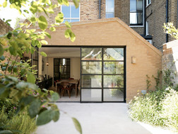 Steel bi-fold doors