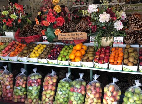 De angst voor fruit!