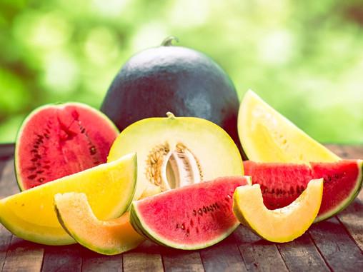 Meloenen zijn geweldig!