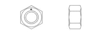 DIN EN ISO 4033 (DIN 934, Style 2)