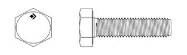 DIN EN ISO 4017 (DIN 933)