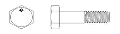 DIN EN ISO 4014 (DIN 931)