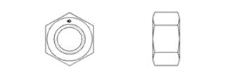 DIN EN ISO 4034 (DIN 555)
