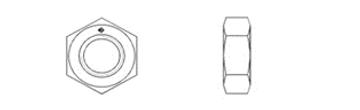 DIN EN ISO 4035 (DIN 439, Part 2)