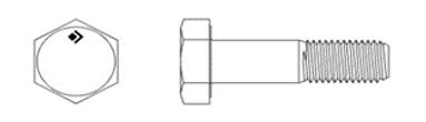 DIN EN ISO 4018 (DIN 558)