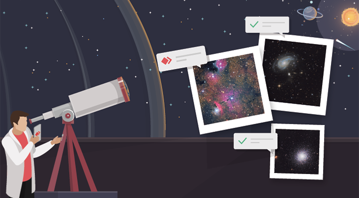 Viewing the Stars with AnyDesk