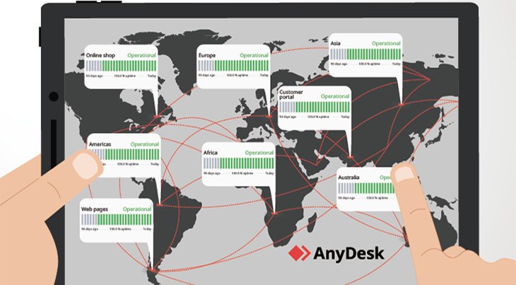The AnyDesk Status Page and How to Use It