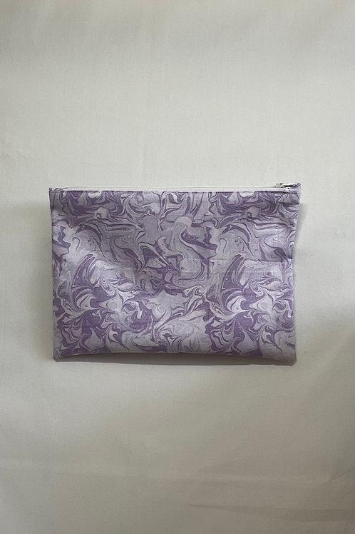 Purple Marble Bag