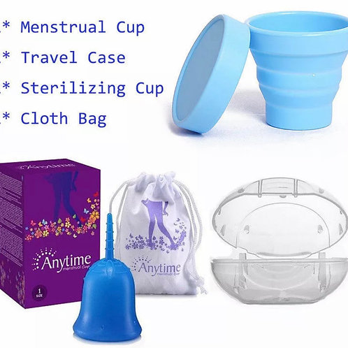 Reusable Silicon Menstrual Cups