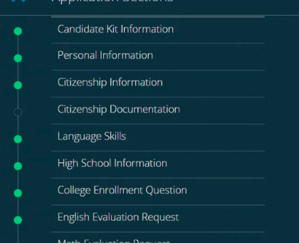 It's October: what are you doing for your Service Academy applications?