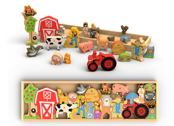 Farm Puzzle A to Z