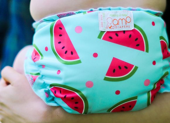AMP One Size Duo Diaper -Prints ($2 Lettermail Eligible)