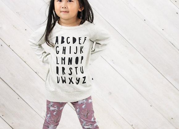 Little & Lively Alphabet Pullover