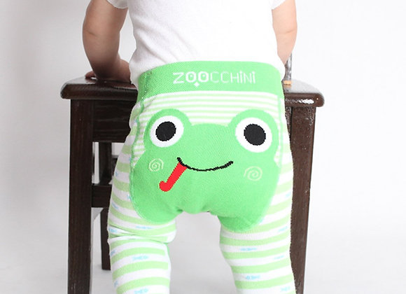 Grip Crawler Legging & Sock Set - Flippy The Frog