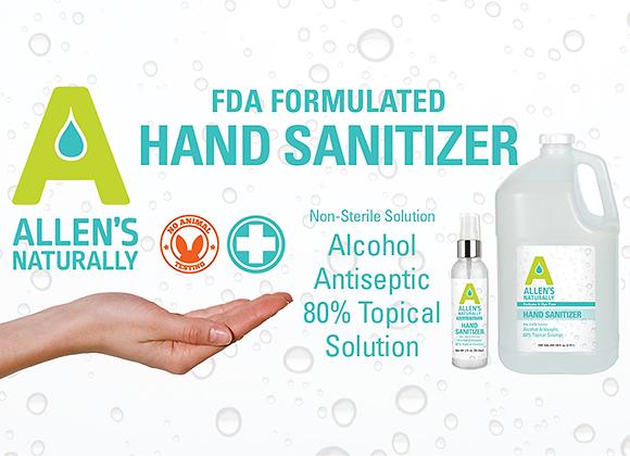 Allen's Naturally Hand Sanitizer