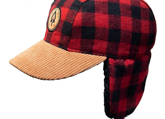 Winter Plaid Ball Hat (Toddler-Youth)
