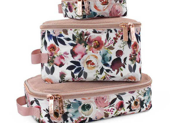Itzy Ritzy Packing Cubes - Floral