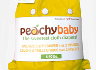Peachy Baby One Size Diaper Cover ($2 Lettermail Eligible)