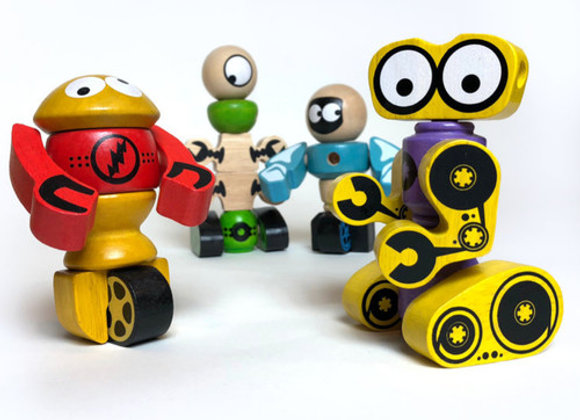 Tinker Totter Robots Playset & Game