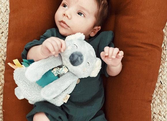 Itzy Lovey - Koala Plush with Silicon Teether Toy
