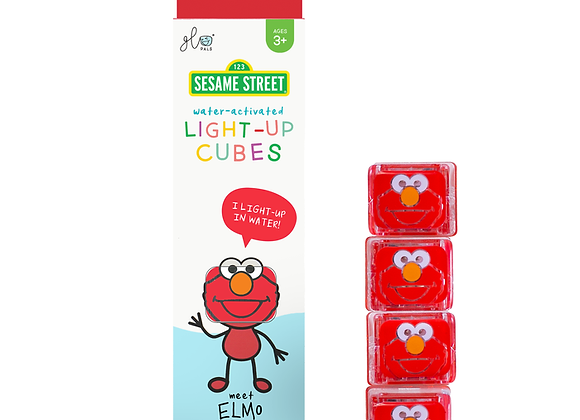 Glow Pals Special Edition Elmo - 4pk of Cubes