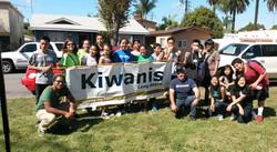 Kiwanis Key Club Tree Planting
