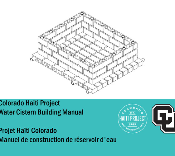 Water Cistern Manual Cover
