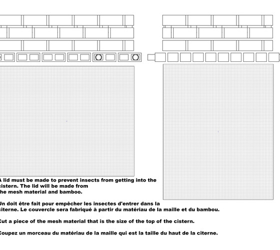 Water cistern building instructions