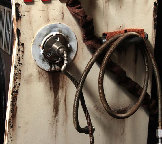 Closup of data hoses