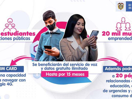 📲 Postúlate para tener datos y servicio de voz gratis con MinTIC
