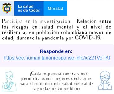 🧠 Invitación estudio sobre Salud Mental y Resiliencia