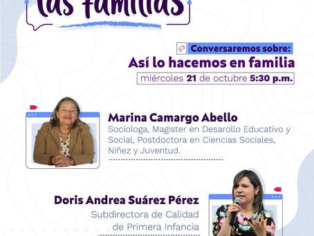 📢 En Confianza Con Las Familias 6 - Invitada Marina Camargo